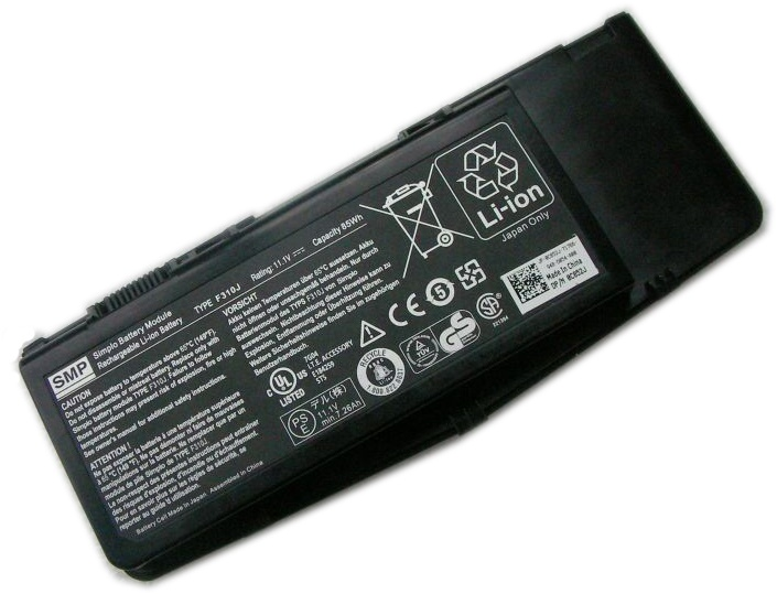 Dell Alienware M17x(ALW17D-278) battery