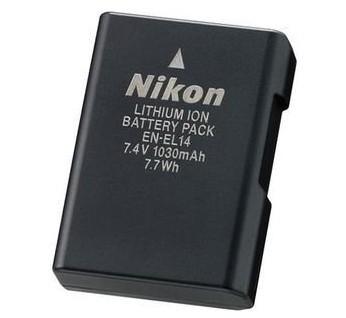nikon Coolpix D3100 battery